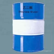 Antigel/liquide de refroidissement en résine de polyester de haute pureté de qualité industrielle antigel/liquide de refroidissement éthylène glycol/MEG/107-21-1