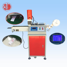Ultrasonic nonwoven trademark cutting machine