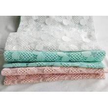 Broderie plate en polyester fantaisie pour femme