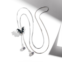 DARA Brand Necklace Long Butterfly Necklace