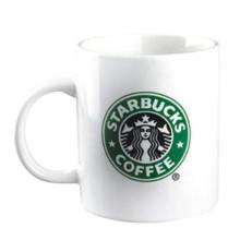 Tasse de café en céramique blanc Starbucks