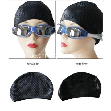 Cool Black Schwimmen Caps Silikon Material
