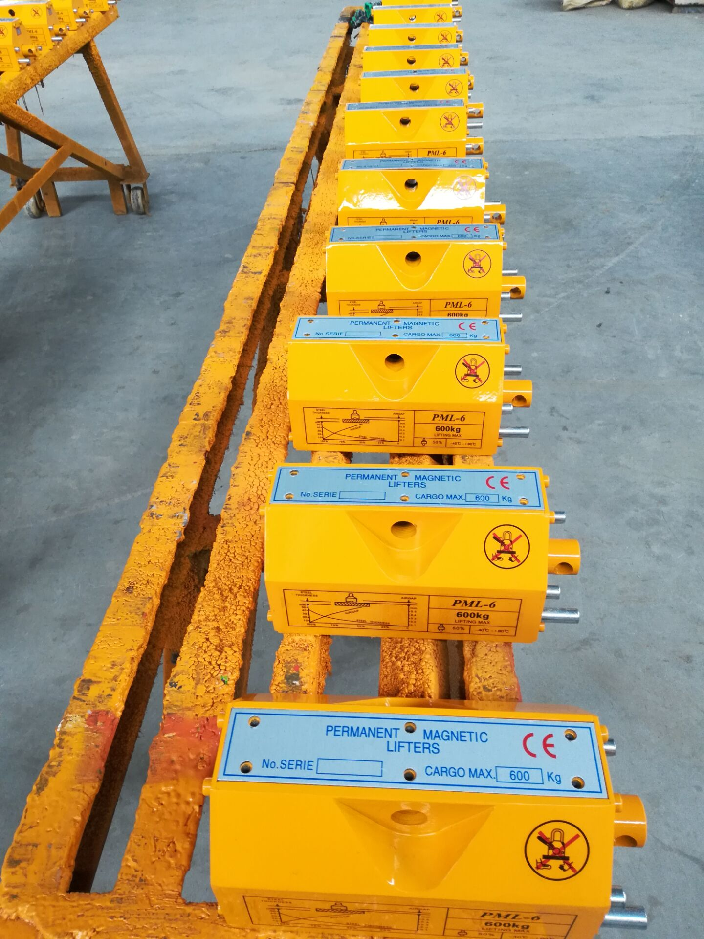 manual magnetic lifters