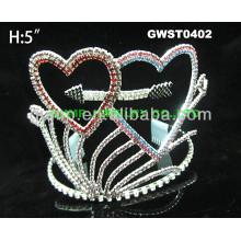 Valentine Herz Strass Tiara Krone -GWST0402