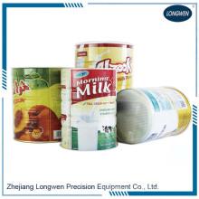 Ligne de production automatique de corps de boîte de conserve de lait en poudre de 3 pièces