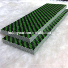 Grüne Farbe Kevlar dicke cprf Platte