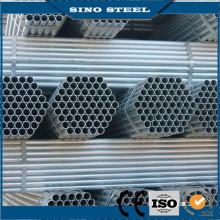 Structure de carbone autour des tuyaux en acier pré galvanisée
