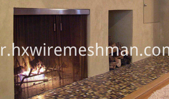 fireplace replacement screen