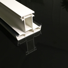 Perfil de plástico extruido de PVC
