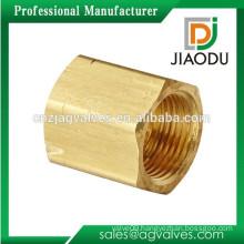"""JD-H101 1/4"""" brass forged nut"""