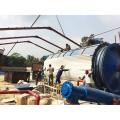 Máquina de reciclaje del neumático inútil de la aprobación de Q345R CE a la planta de pirólisis del aceite