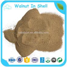 Zerquetschtes Walnuss-Shell benutzt für schwere Stähle und Fiberglas-Boote und Autos