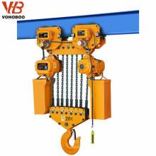 Levante las herramientas de cualquier lugar de trabajo, bloque de cadena eléctrica de 500 kg con interruptor eléctrico