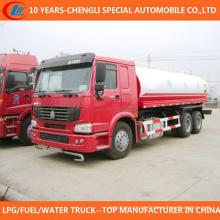 Caminhão de tanque da água de 12cbm 14cbm 16cbm 6X4