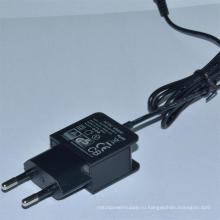 Универсальный 12V 0,5 а, 5V1000mA переменного тока/DC адаптер питания ЕС подключите AC DC адаптер
