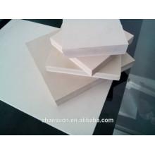 tablero de la espuma del pvc tablero de WPC, tablero del celuka del PVC para la decoración de la pared