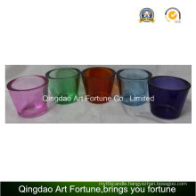 Hot Sale Glass Tealight Holder with Think Wall-Small Colorful