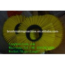 máquina automática da escova da vassoura do cnc / escova arrebatadora da estrada que faz para a limpeza do assoalho