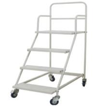 Plate-forme de résistance UV, revêtement en poudre et sans Pb main camion/inox chariot Mobile de palette pesée/logistique panier