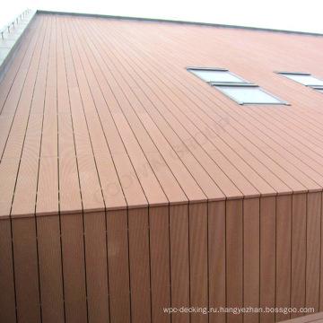 Корозия-упорная деревянная пластичная составная панель стены WPC стены сайдинг