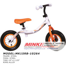 10′′ Kids Pedaless Foot Rest Bike Balance Bicycle (MK15RB-10264)
