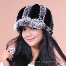 Sombreros / Gorros De Piel De Invierno De Invierno Mujer