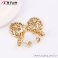 63590-Xuping Sweet Gold Plated Jewelry Special Heart Shape Jewelry Set