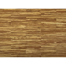 Tiger Stripes Indoor Strand Woven Structure Suelo de bambú