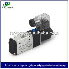 3-ходовой пневматический электромагнитный клапан 24 В постоянного тока
