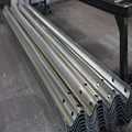 Verkehrssicherheit Q235 Q345 Flex Beam Guardrail