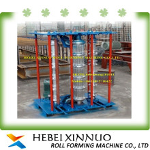 canton hot sale xinnuo brief curve cold roll form machine