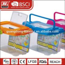 Plastic pet transparent,clear fish breeding tank