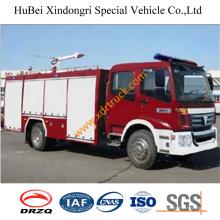 Caminhão de bombeiros macio Euro3 da água de 5,5 toneladas Dongfeng