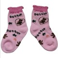 Pink Ankle Baby Socks