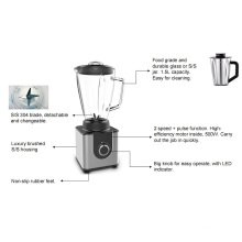 1.5L Luxury Brushed S/S Housing Table Blender