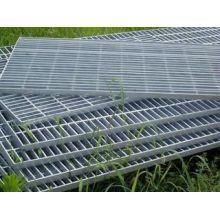 Plancher/304/316/galvanisé certifié caillebotis de barres en acier inoxydable