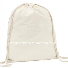 Baumwoll Draw String Bag, Werbebeutel