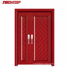Tpw-074 China Modern Drawing Room Door Models Wood with Glass