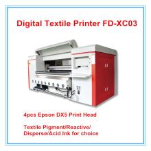 Machine d'impression numérique de petit pain de textile Fd-Xc03