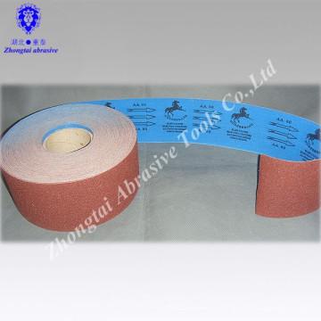 Rouleau de tissu d'émeris de CORSE de la Corée, petit pain de tissu abrasif