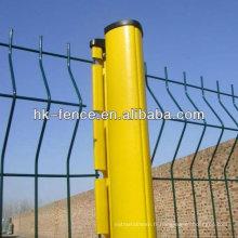 Panneau chaud de barrière de fil de PVC de vente / barricade piétonnière provisoire
