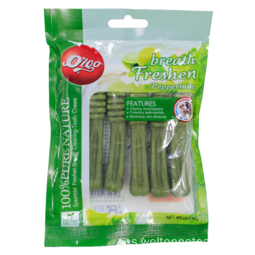 perro masticable suave trata dental