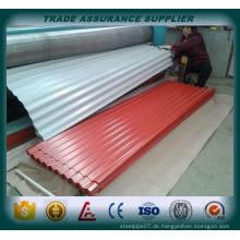 Galvanisierte Stahl-Wellpappe in China