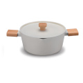 good quality cookware set with different handle casserole
