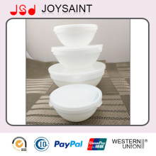 Wholesale White Exquisite Table Use Glassware Glass Soup Bowl for Fruit and Food