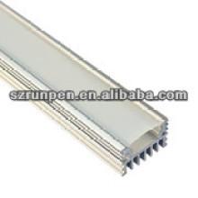 Boîtier de lampe à LED en aluminium extrudé