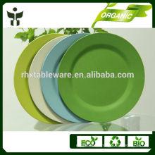 food tray bamboo fiber fancy dinnerware
