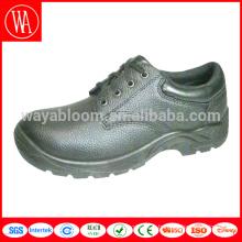 chaussures de sécurité en cuir pu