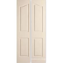 4 Panel Archtop Molded Decorative Bifold Doors