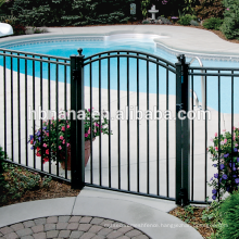Europen style Cheap Wrought Iron Gates / Cheap Garden Gates / Beautiful and Cheap Wrought Iron Gates
